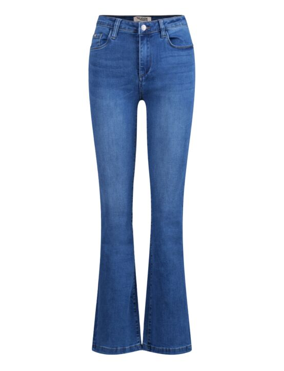 Queen Hearts | Skinny Flair Jeans 632-A Blauw