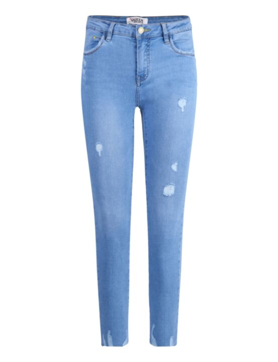 Queen Hearts   Blue Jeans 767-1