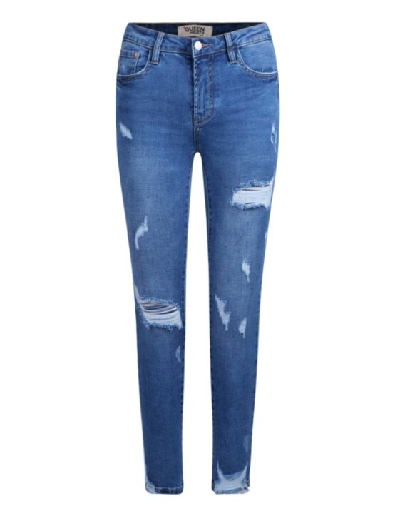 Queen Hearts   Blue Jeans 692-4