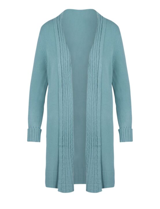 Cardigan Linsey Turquoise