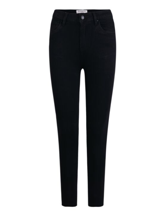 Queen Hearts   Black Jeans Q003