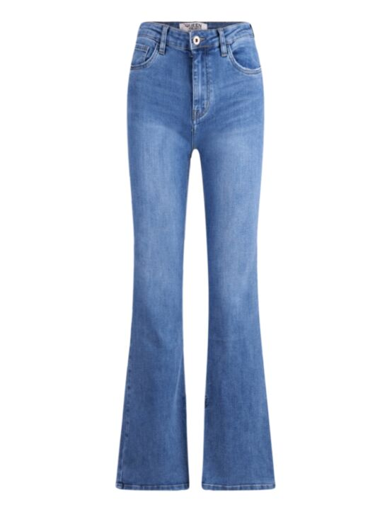 Queen Hearts | Blue Flair Jeans 806-1