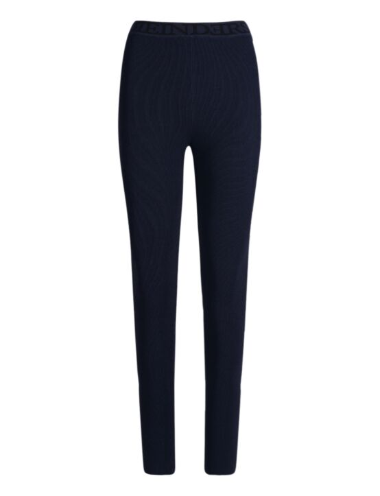 Reinders | Pants Tight Fit Entarsia Dark Blue