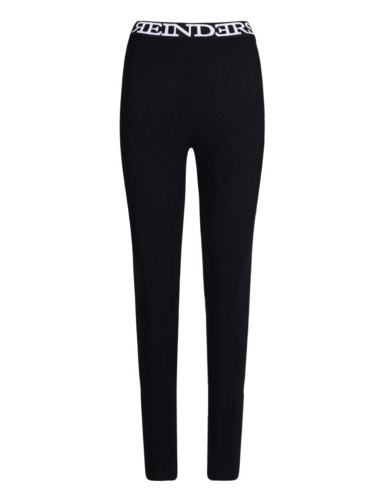 Reinders | Pants Tight Fit Entarsia True Black
