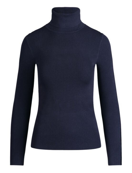 Reinders | Turtleneck Entarsia Dark Blue