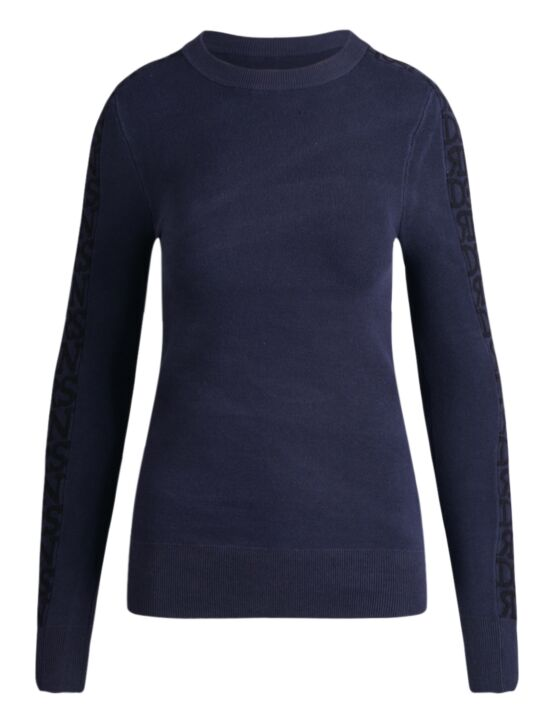 Reinders | Sweater Roundneck 3D Artwork Dark Blue