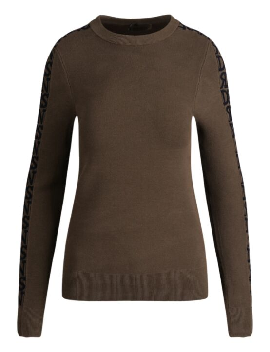 Reinders | Sweater Roundneck 3D Artwork Dark Olive