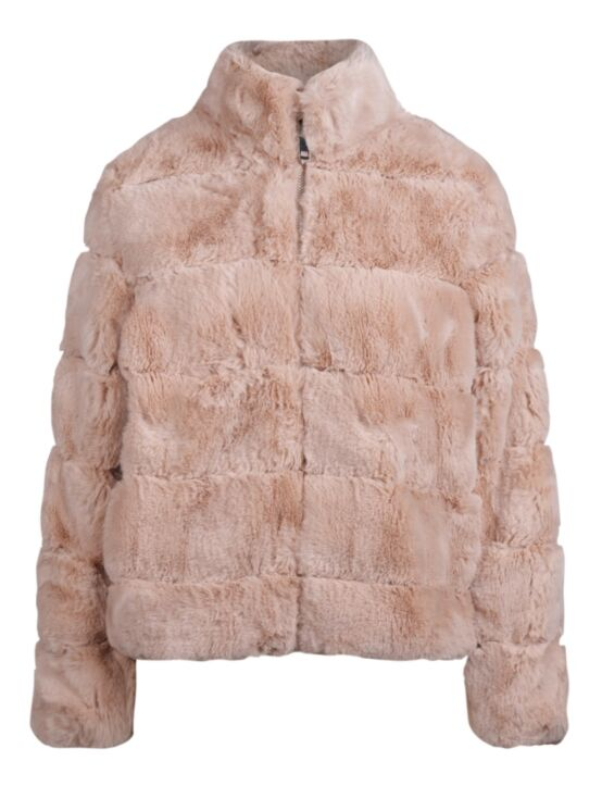 Fake Fur Jacket Janet Beige