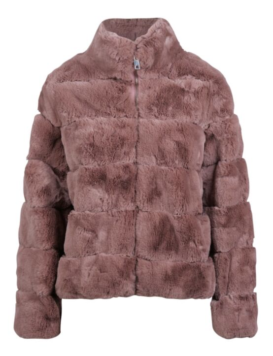 Fake Fur Jacket Janet Paars