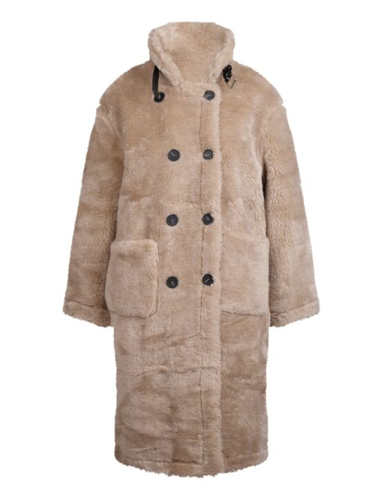 Teddy Coat Shanice Beige