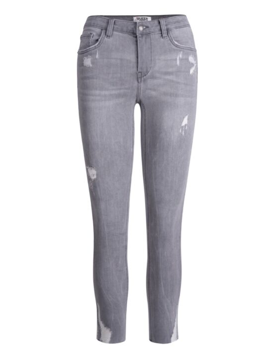Queen Hearts | Grey Jeans 9225-2