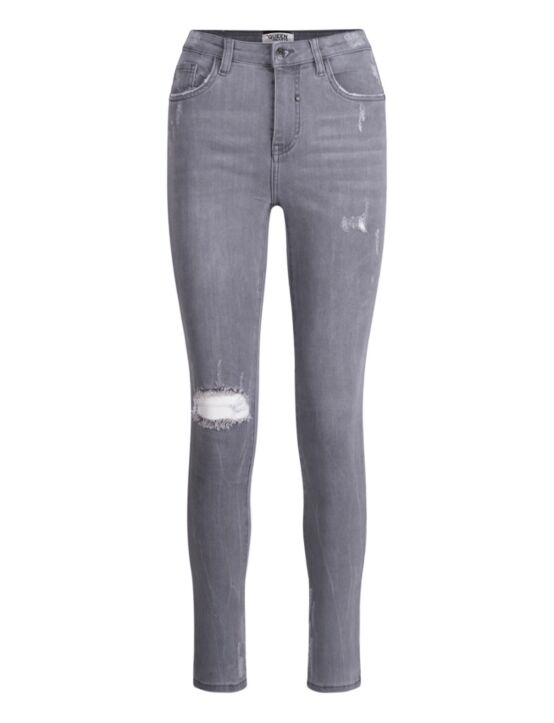 Queen Hearts | Grey Jeans 9170-6