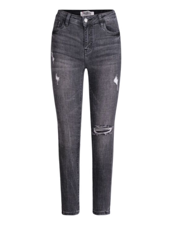 Queen Hearts | Skinny Jeans, Ripped Knee 831