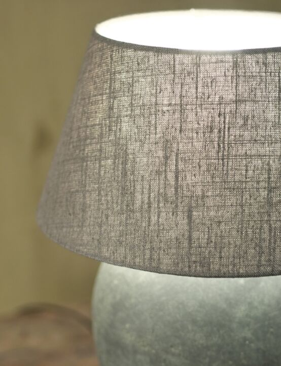 Lampshade Dark Grey 20X30X16