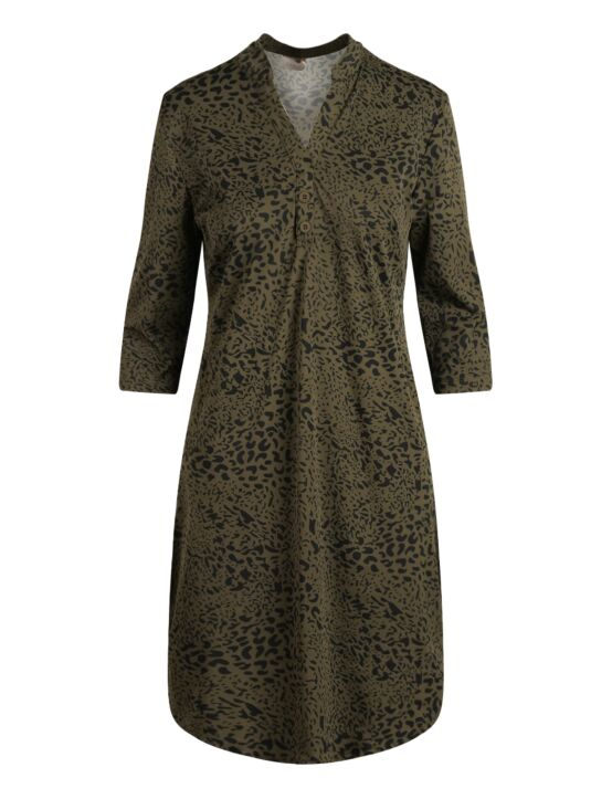 Daelin | Dress Annelise Army Leopard