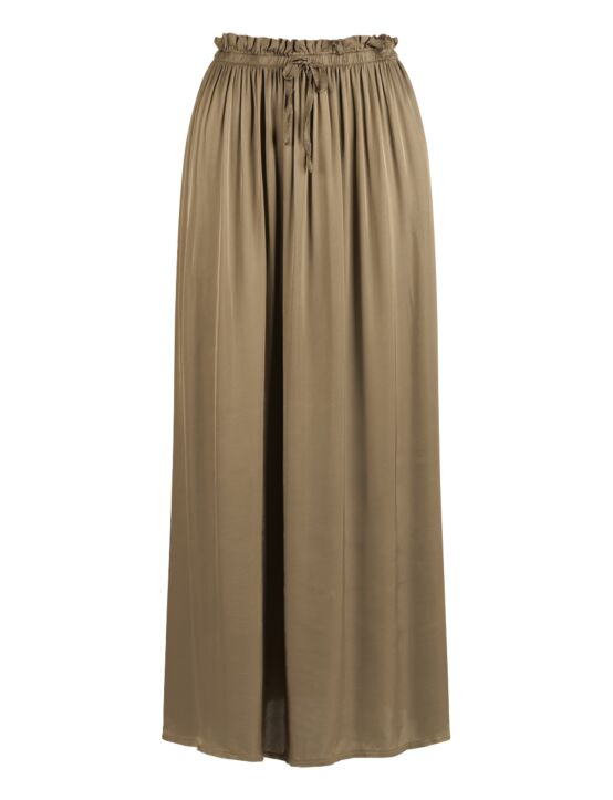Silk Skirt Taupe
