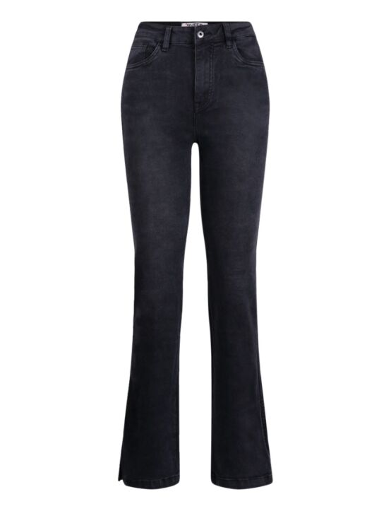 Queen Hearts | Straight Jeans, Open Side