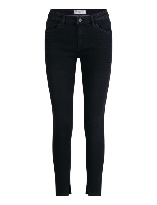 Queen Hearts   Black Jeans 9341-1 Zwart