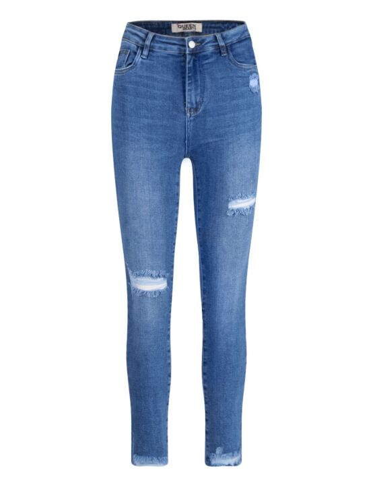 Queen Hearts   Blue Jeans 828 Blauw
