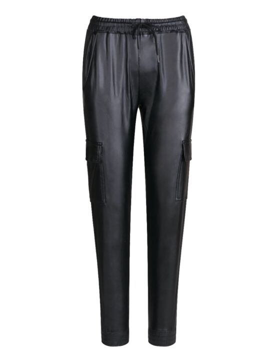 Leather-Look Trouser Tess Zwart