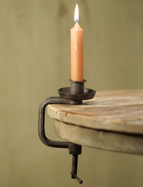 Candle Holder-Clamp 7x10x15