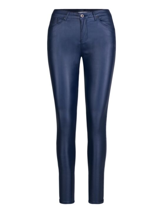 Goodies | Coated Jeans DJ288-3 Donkerblauw