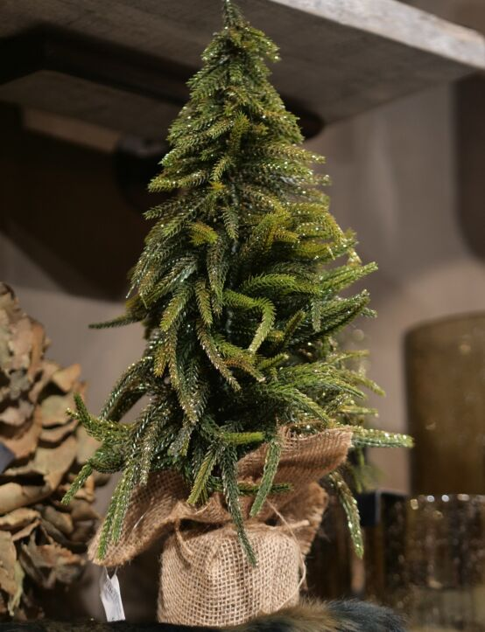 Kerstboompje Goud 20x20x43
