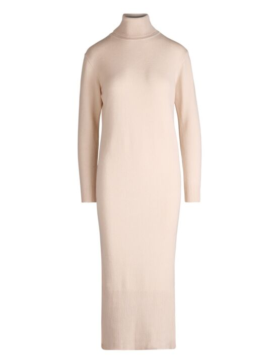 Col Dress Lucia Beige