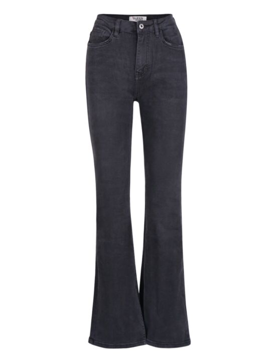 Queen Hearts | Flair Jeans, Split Hem 806-2