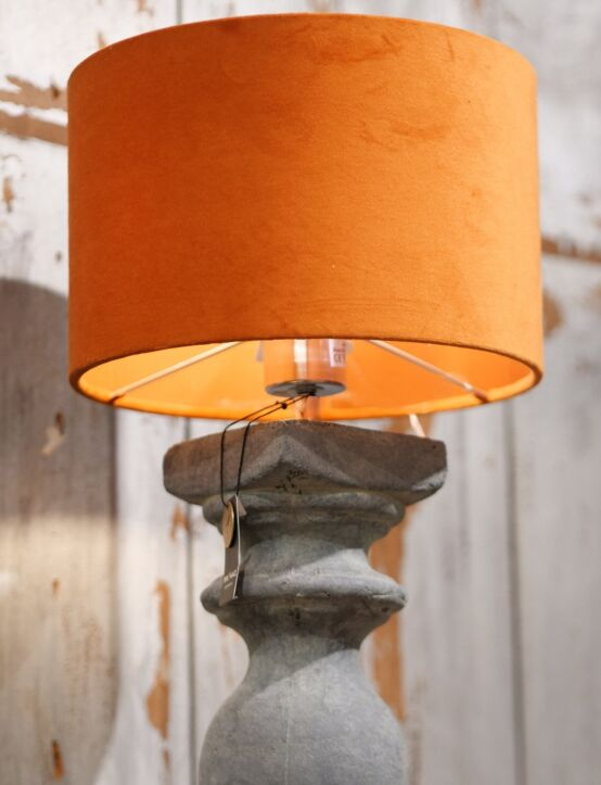 Lampshade Cylinder Cognac D25.H16