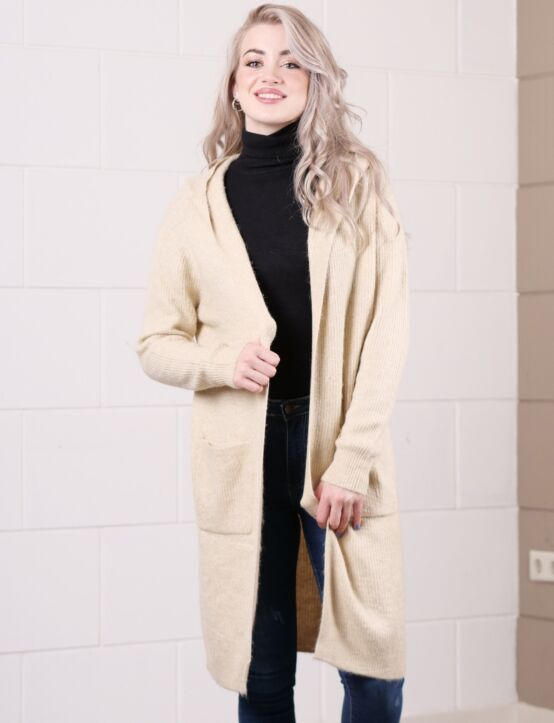 Long Cardigan Mimo Beige