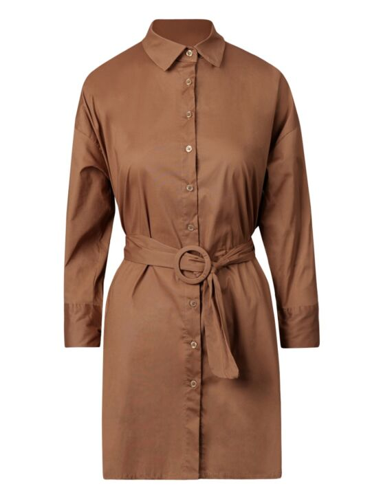 Blouse Dress Logan Camel