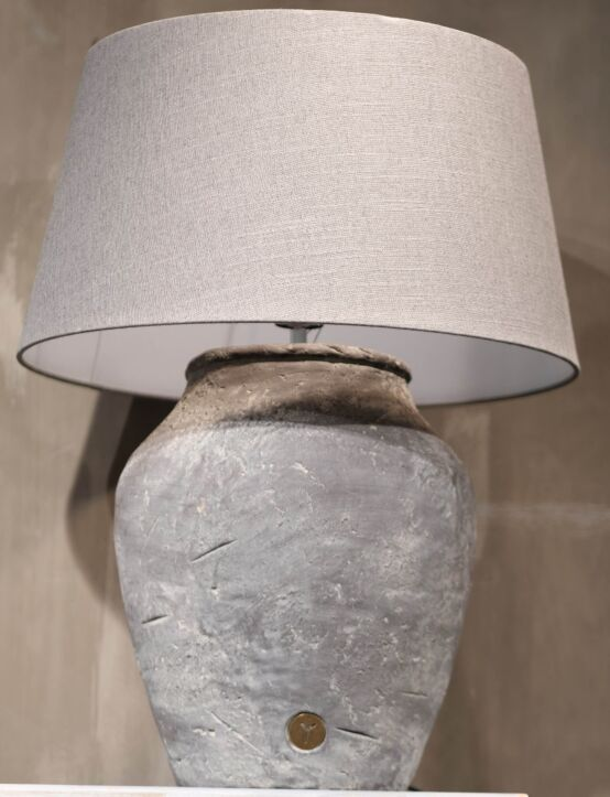 Lampshade Grey 32X42X24