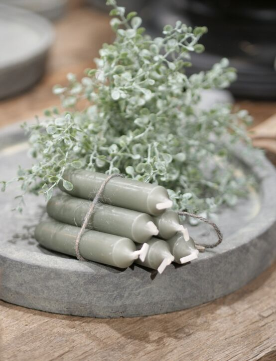 Extruder Candles Stone