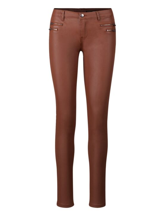 Leather-look Trouser Lover Camel