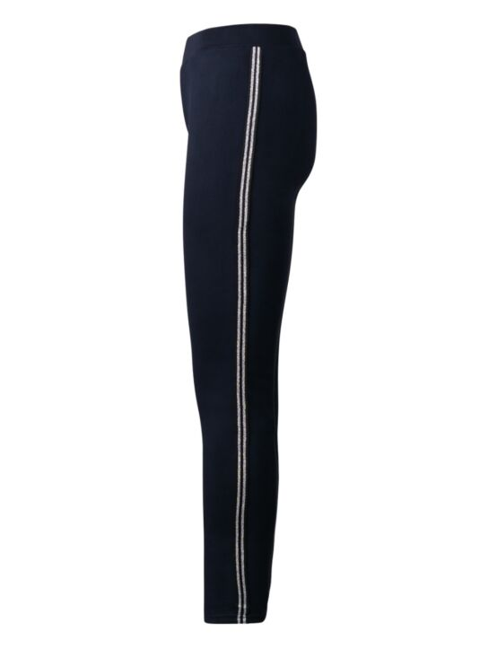Jogging Trouser Double Sparkle Stripe Donkerblauw
