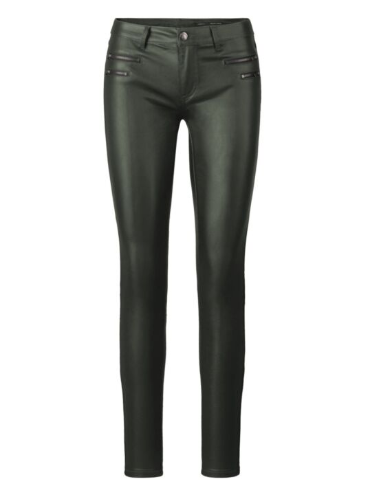 Leather-look Trouser Lover Donkergroen