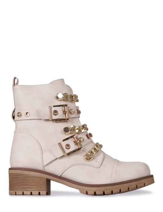 Boot Chain Beige