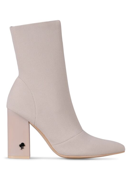 Reinders | Sock Ankle Boot Creme