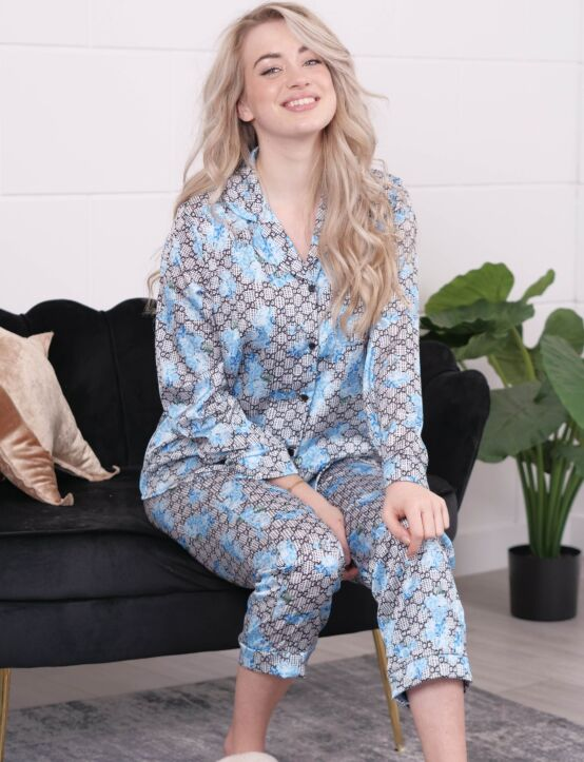 Pyjama Set Sweet Blauw
