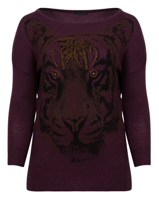 Sweater Lion Paars