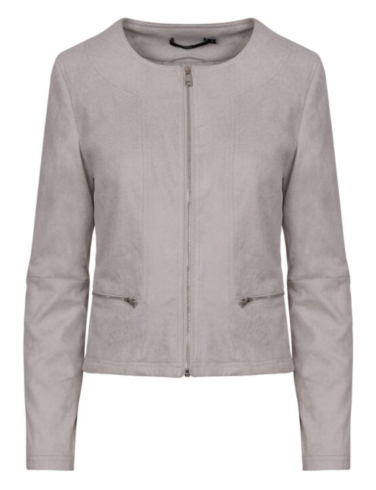 Jacket Carly Lichtgrijs