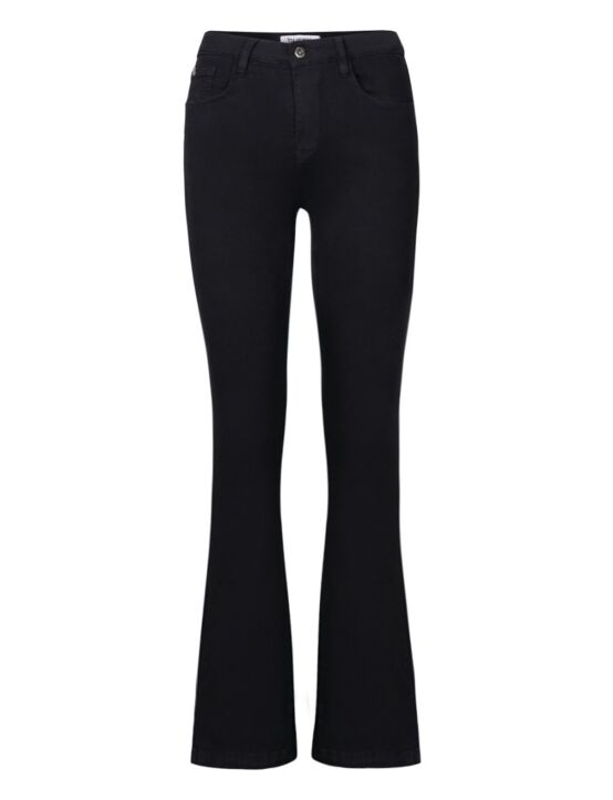 Queen Hearts | Skinny Flair Jeans 632-A Zwart
