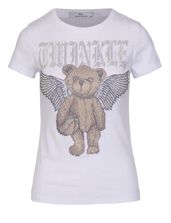 T-shirt Glitter Bear Wit