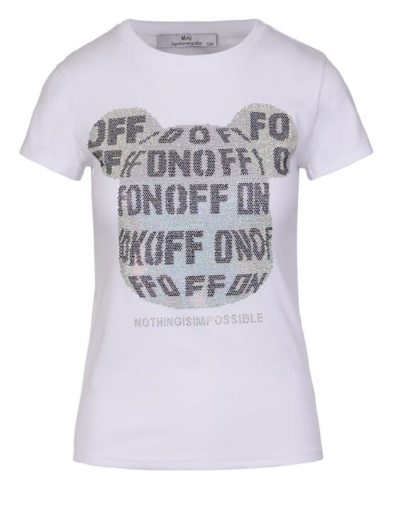T-shirt On/Off Wit