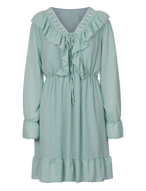 Dress Veerle Turquoise