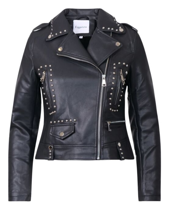 Leather-look Jacket Janet Zwart