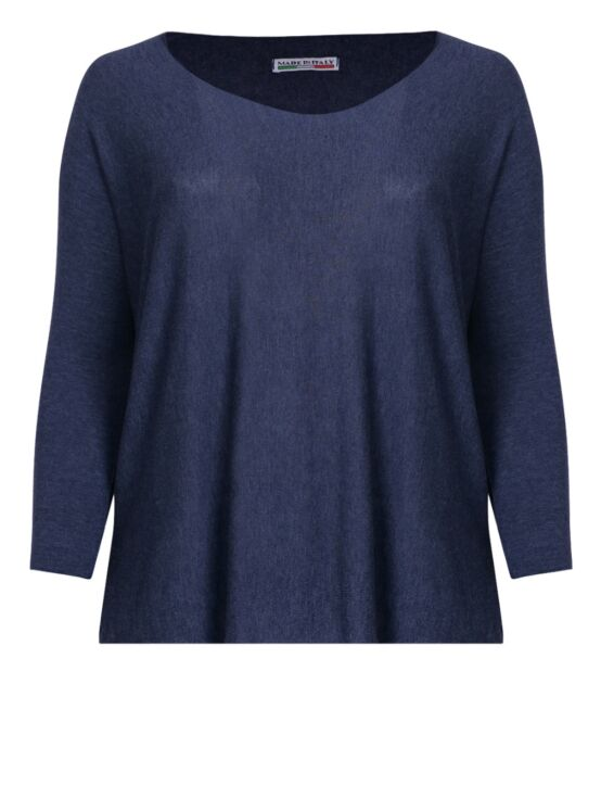 Basic Top 51 Donkerblauw