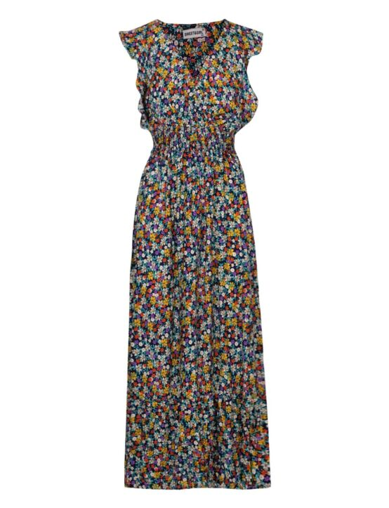 Long Dress Melanie Donkerblauw