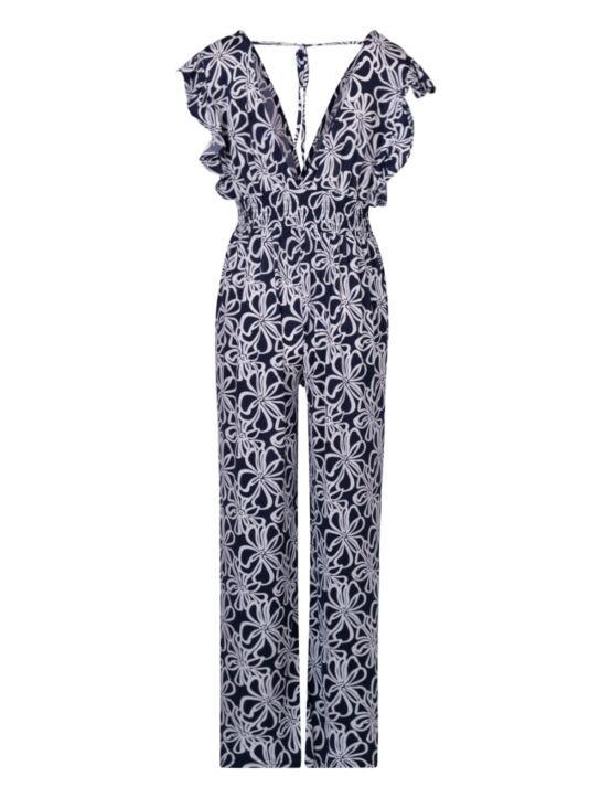 Jumpsuit Carley Donkerblauw